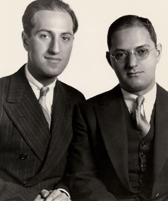 George and Ira Gershwin