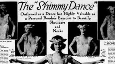The Shimmy dance exercise