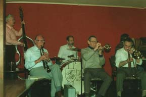 Bob Craig with Al Fairweather band