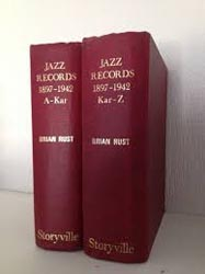 Brian Rust Jazz Records