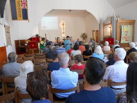 Laxey Methodist Church Service