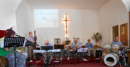 Laxey Church Jazz Service