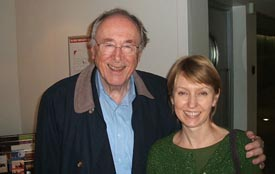 Helen with Chris Barber