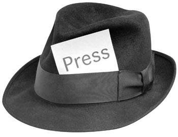 The Write Stuff press hat