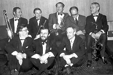 Photo of Alan with Paul Desmond and others