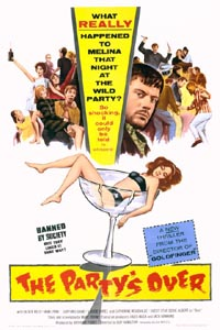 The Partys Over poster