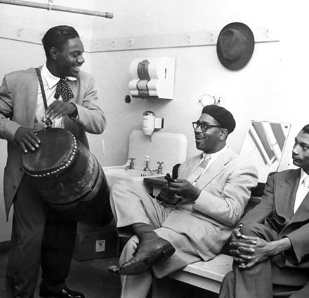 Chano Pozo and Dizzy Gillespie