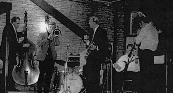 Andrew Ford and band at Thames Hotel 1964