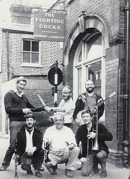 Bill Brunskill Band circa 1964