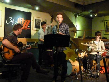 Lloyd Haines at Cafe Jazz