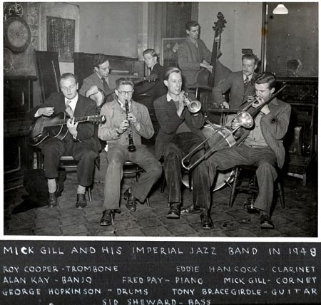 Mick Gill and his Imperial Jazz band