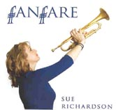 Sue Richardson Fanfare album